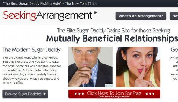 Top 10 Best Sugar Daddy Websites in 2018